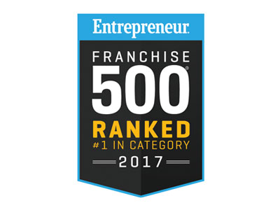 Entrepreneur Franchise 500 Ranked 2017